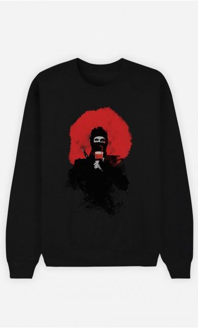 Sweatshirt Schwarz Soda Ninja