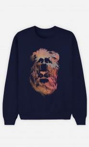 Sweatshirt Blau Desert Lion