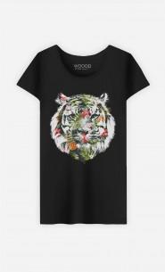 T-Shirt Tropical Tiger