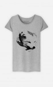 T-Shirt White Fox Alpha