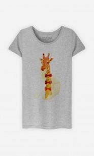 T-Shirt Elegant Giraffe
