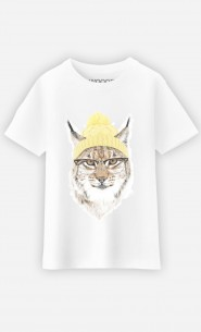 T-shirt Geeky Cat
