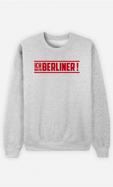 Sweatshirt Ik bin ein Berliner!