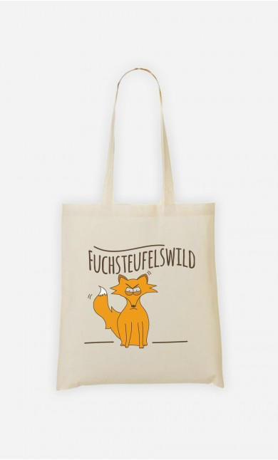 Tote Bag Fuchsteufelswild