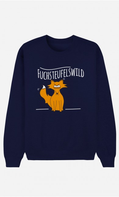 Sweatshirt Blau Fuchsteufelswild
