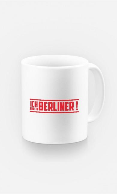 Tasse Ich bin ein Berliner!