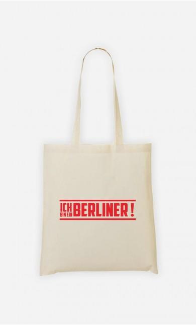 Tote Bag Ich bin ein Berliner!