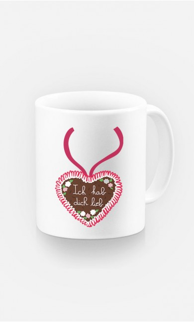 Tasse Ich hab dich lieb