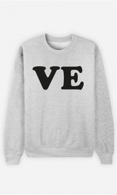 Sweatshirt Love Ve