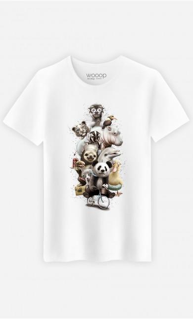 T-shirt Zoo escape