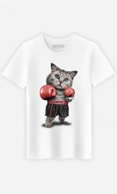 T-shirt Boxing cat