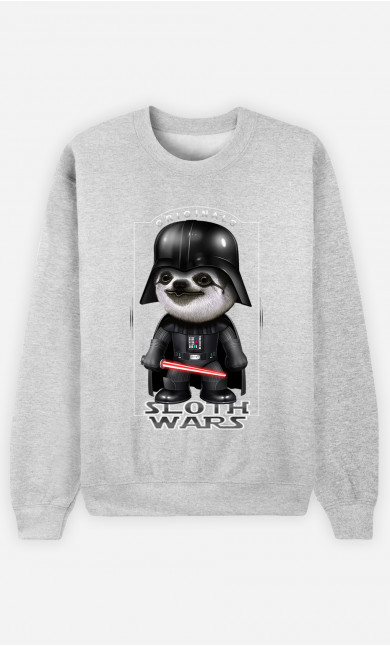 Sweatshirt Sloth Wars