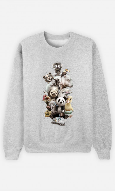 Sweatshirt Zoo escape