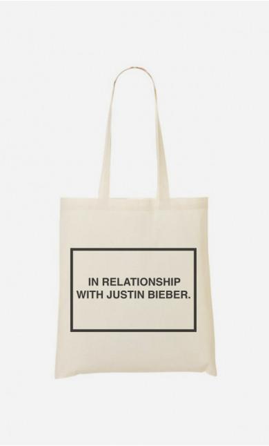Stoffbeutel With Justin Bieber