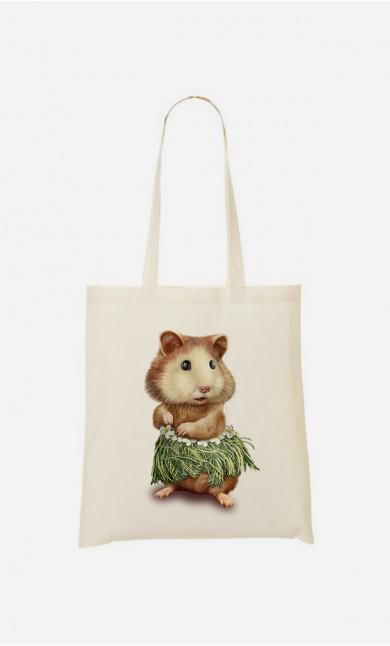 Stoffbeutel Hamster Hula