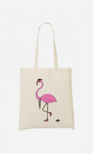 Stoffbeutel Fredrick The Flamingo