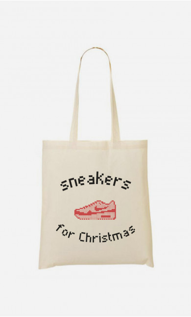 Stoffbeutel Sneakers For Christmas