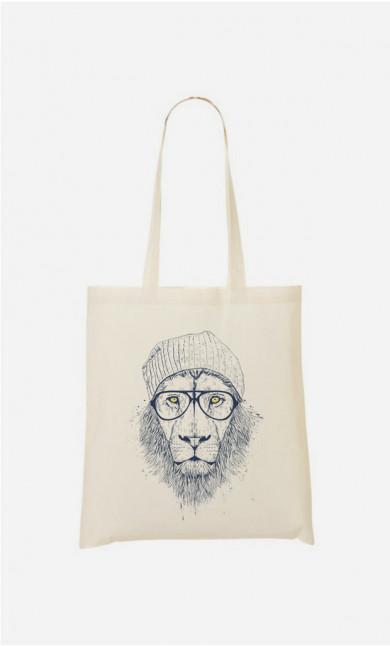 Stoffbeutel Cool Lion