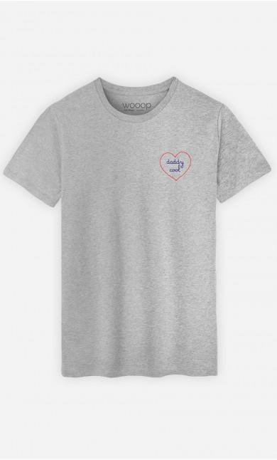 T-Shirt Herren Daddy Cool - Bestickt