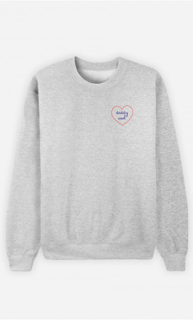 Sweat Herren Daddy Cool - Bestickt