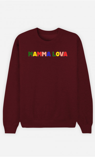 Sweat Damen Mamma Lova
