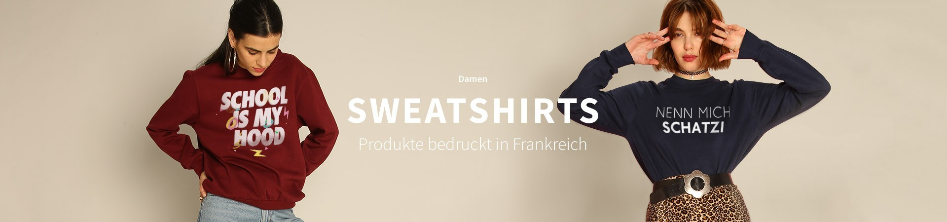Damen Sweatshirts
