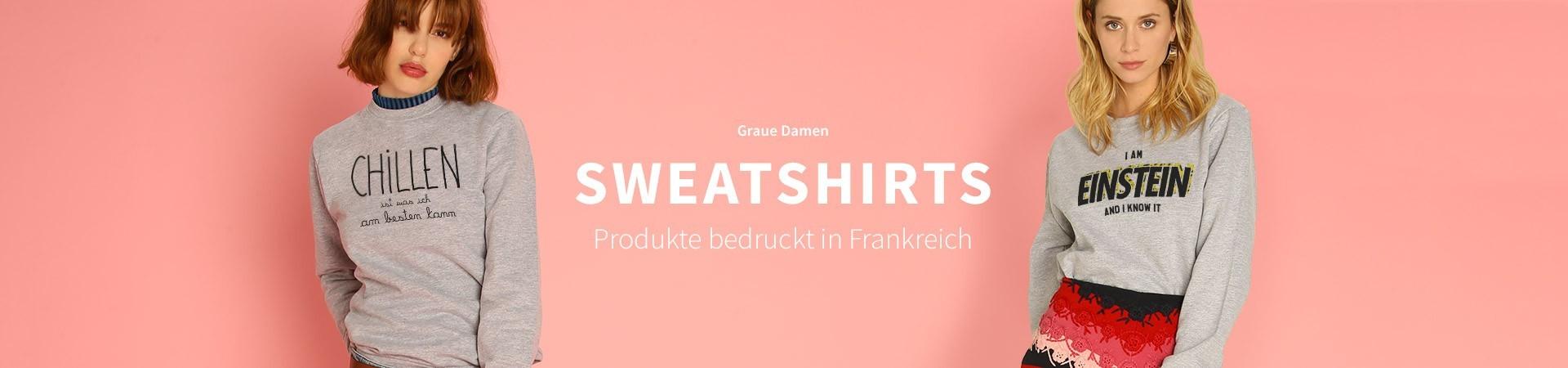 Graue Sweatshirts