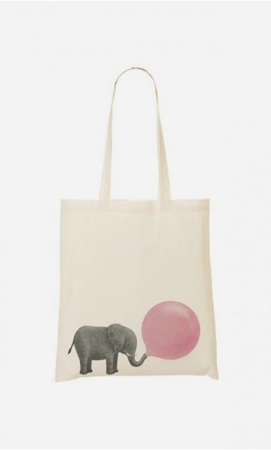 Tote Bag Jumbo Bubble Gum