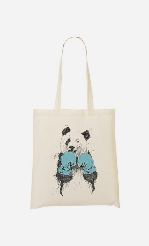Tote Bag The Winner Panda