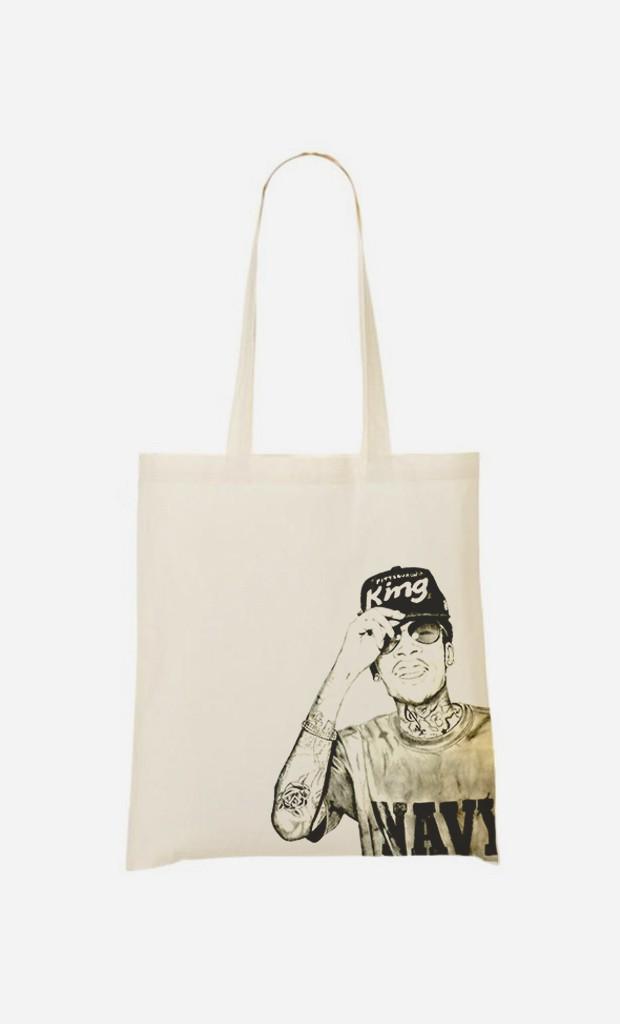 Tote Bag Wiz Khalifa Navy