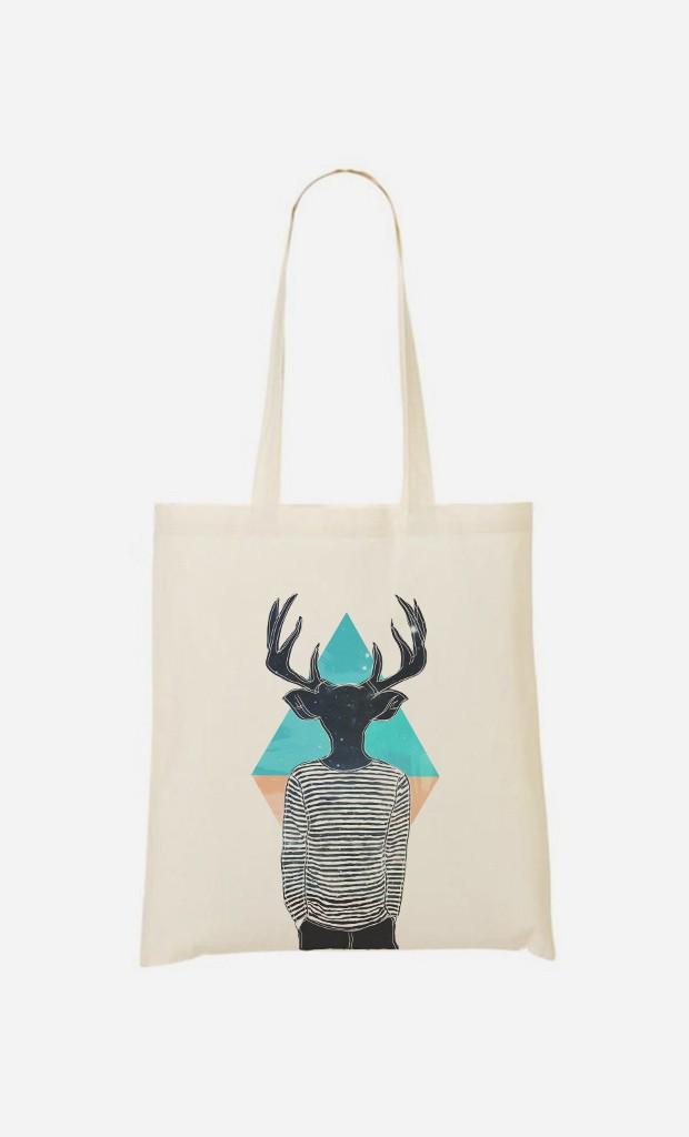 Tote Bag Relaxed Deer