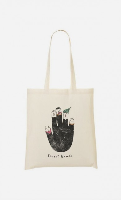 Tote Bag Secret Hands