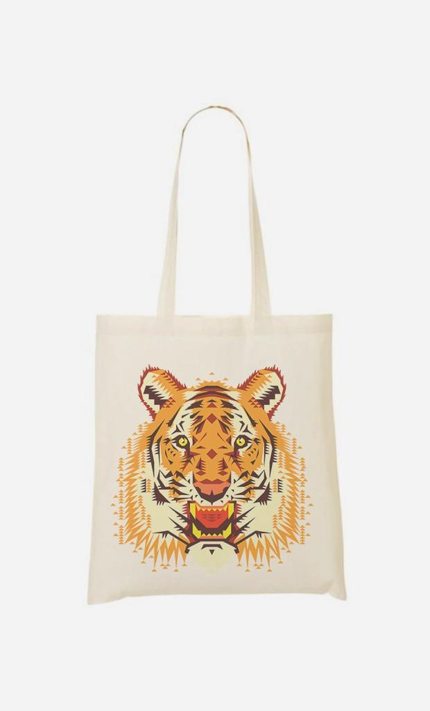 Tote Bag Geo Tiger