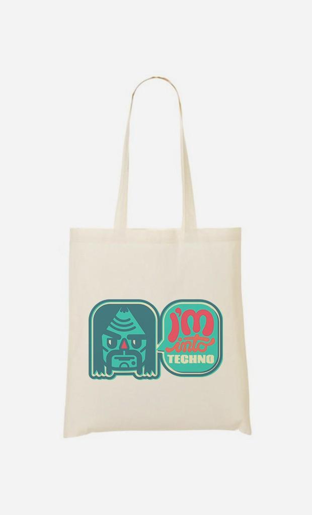 Tote Bag Into Techno