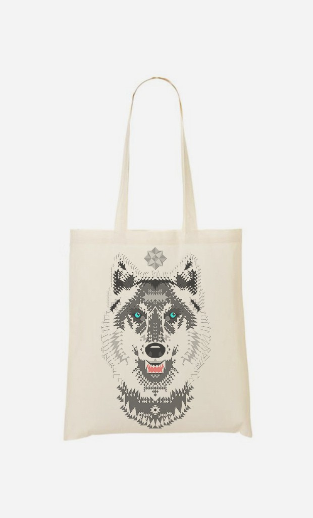 Tote Bag Silver Wolf