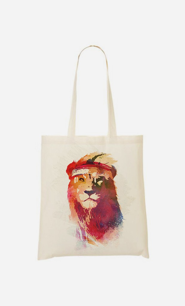 Tote Bag Gym Lion