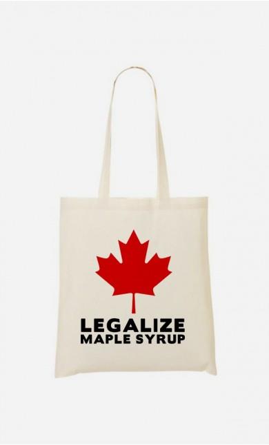 Tote Bag Canada Legalized