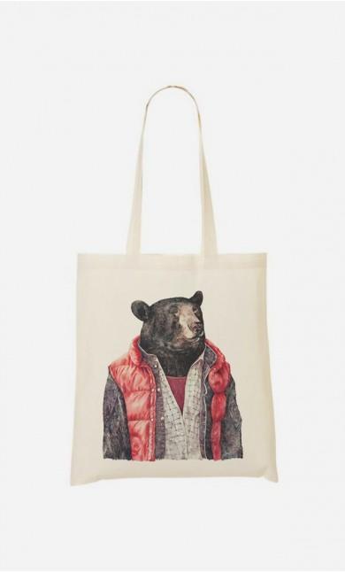 Tote Bag Black Bear