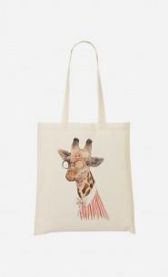 Tote Bag Madame Giraffe