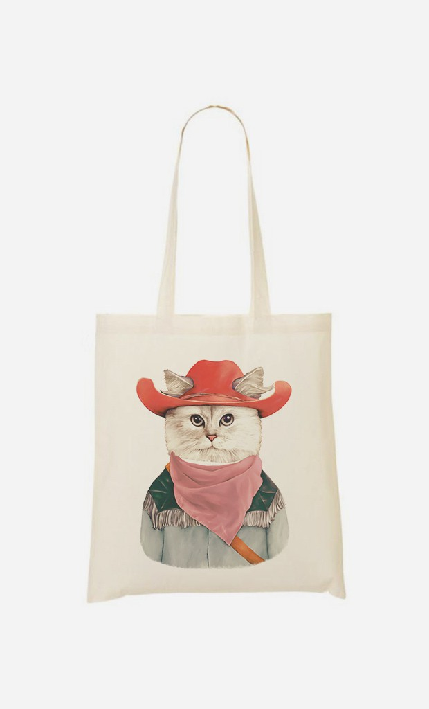 Tote Bag Rodeo Cat