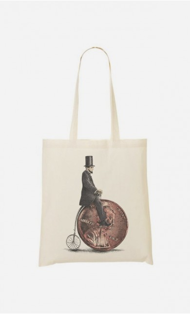 Tote Bag Penny Farthing