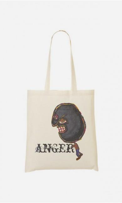 Tote Bag Anger
