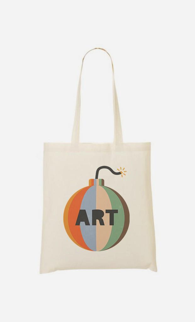 Tote Bag Art Bomb