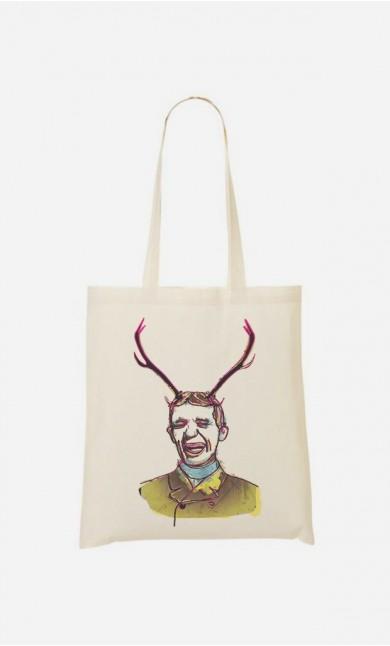 Tote Bag Deer Man