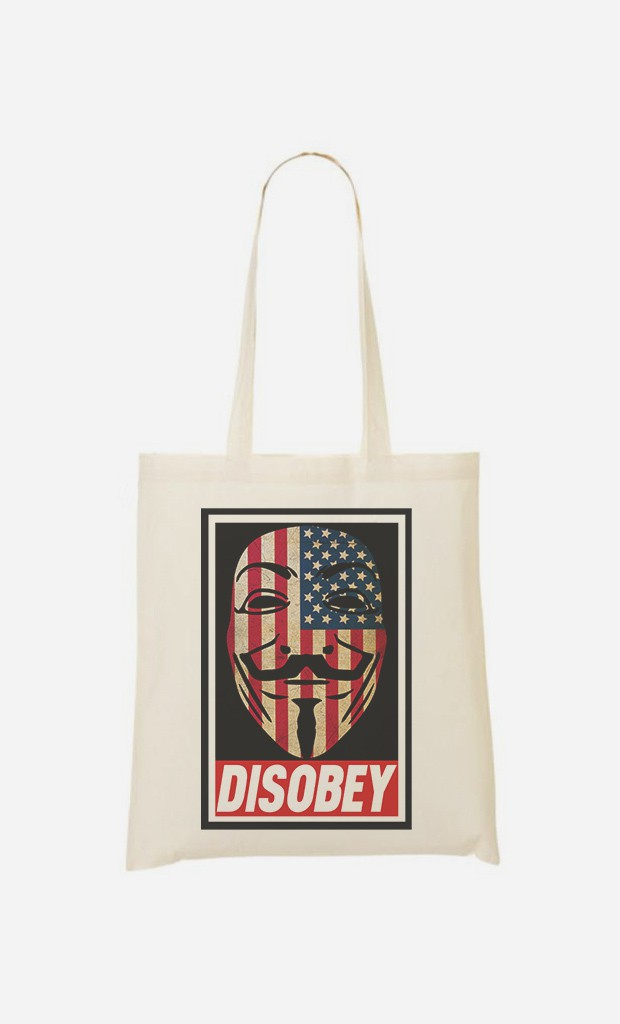 Tote Bag Disobey