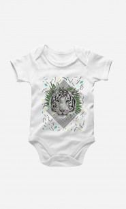 Bodysuit White Tiger