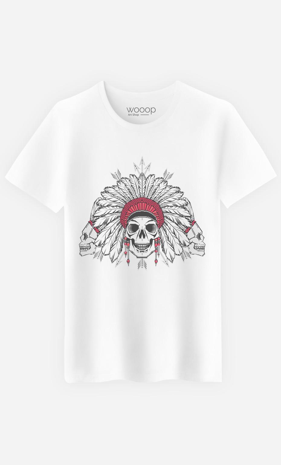 T-Shirt Native Skull