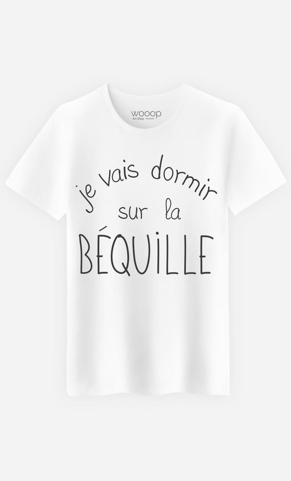 T-Shirt Sur La Béquille