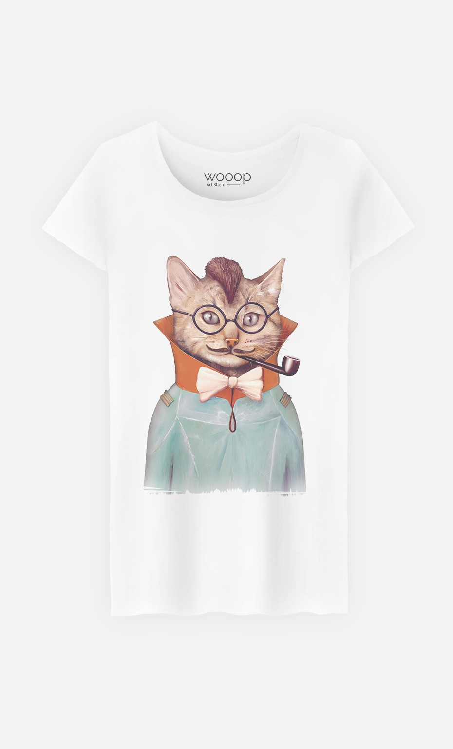 T-Shirt Electric Cat