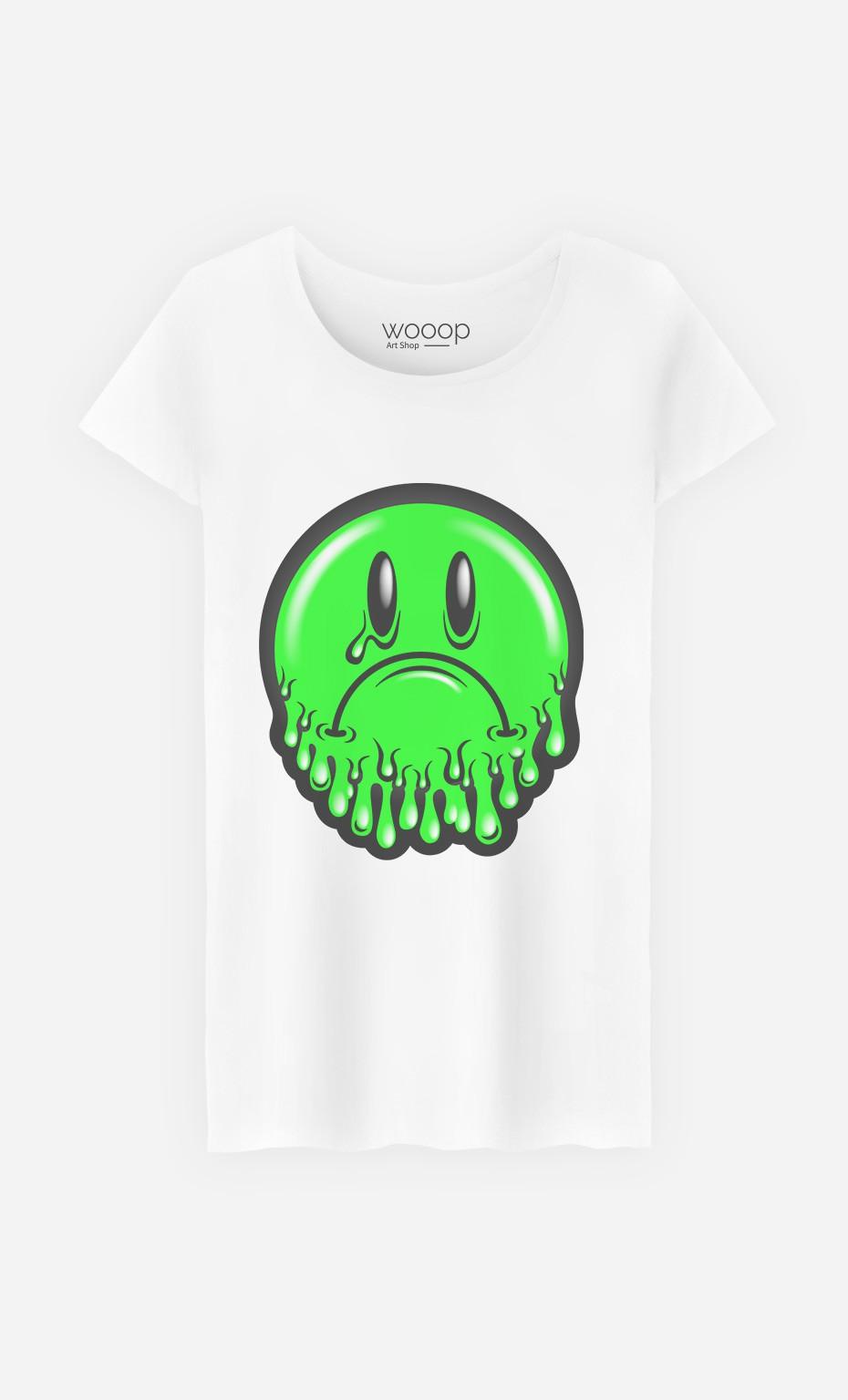T-Shirt Sad Smiley